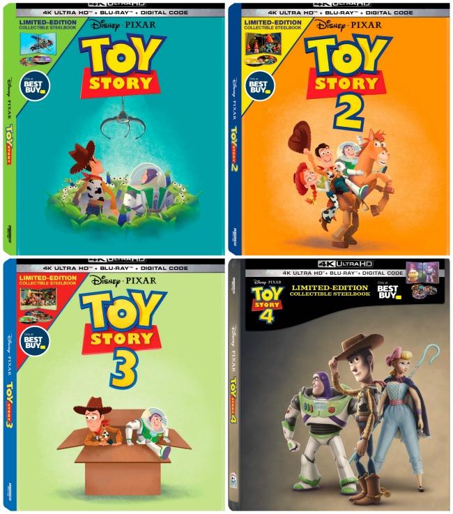 Toy Story Steelbooks at BestBuy